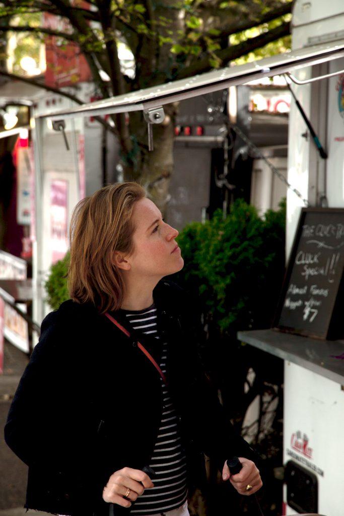 Food Carts Alder street Portland