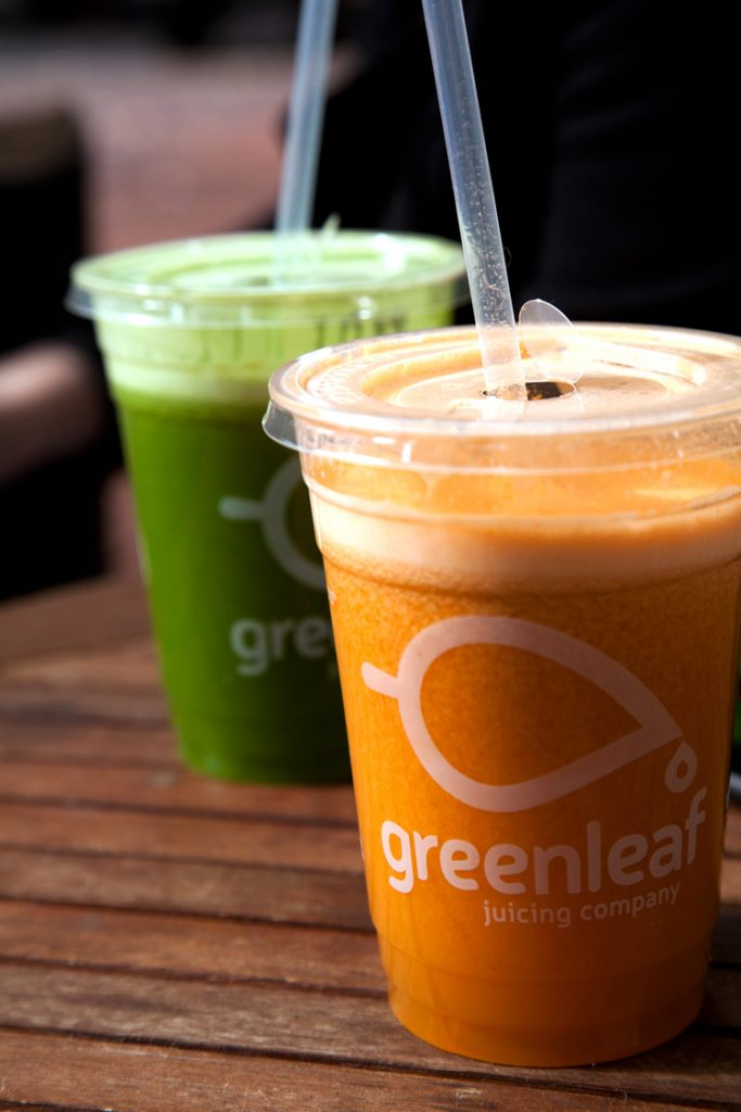 greenleaf fresh cold pressed juice portland