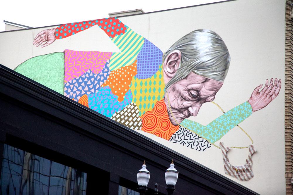Streetart Portland Downtown Pearl District