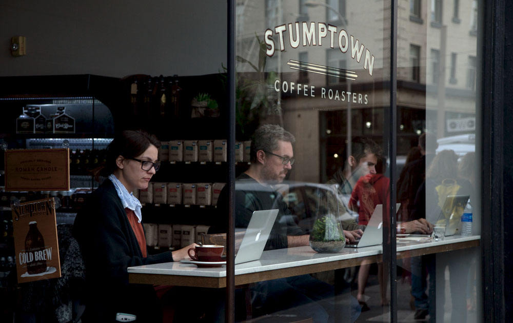 Stumptown Coffee Portland Ace Hotel