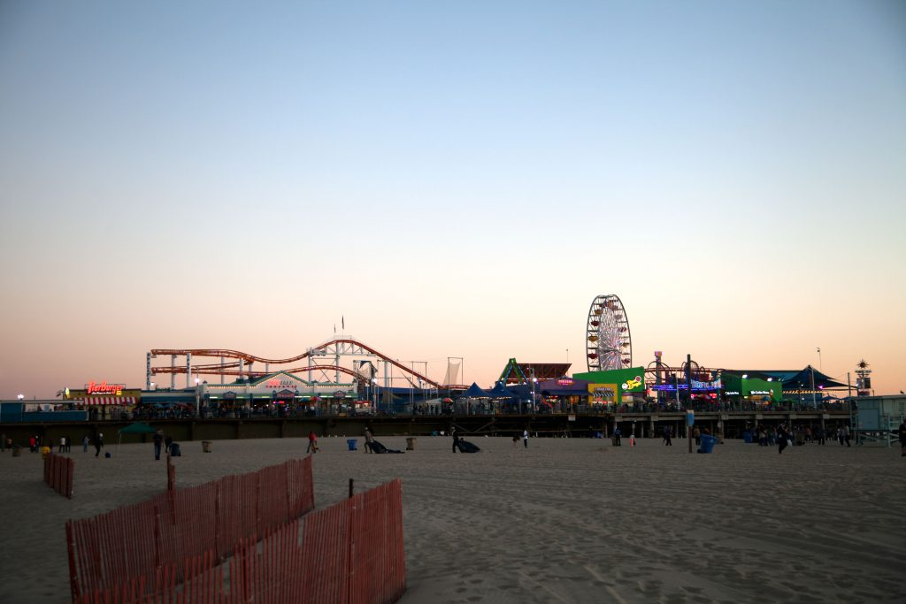 Santa Monica Pier, Ferris Wheel Ride, santa monica beach