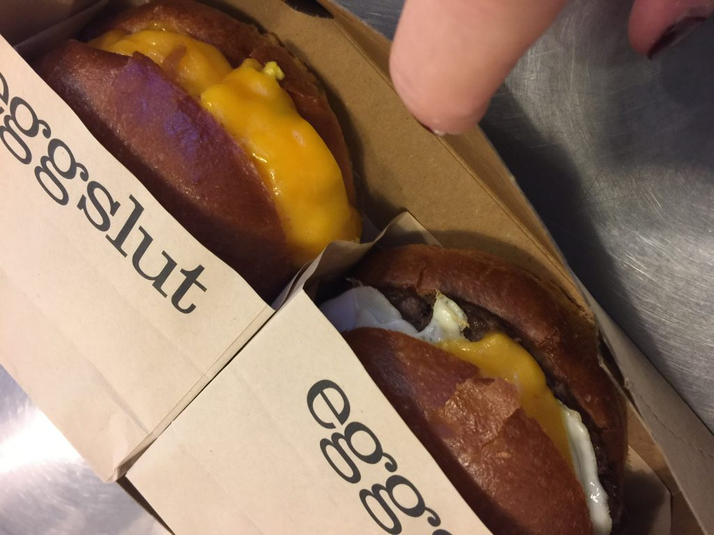 Eggslut, grand central market, eat in LA