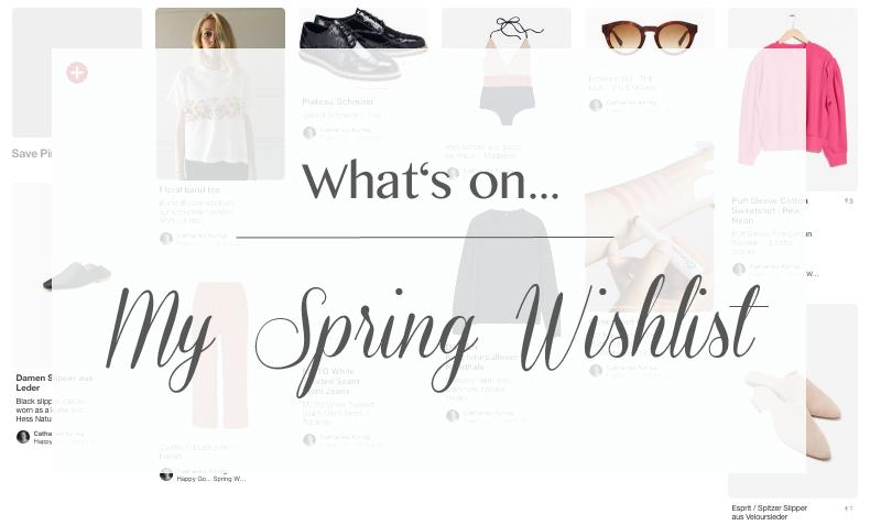 Style spring wishlist pinterest