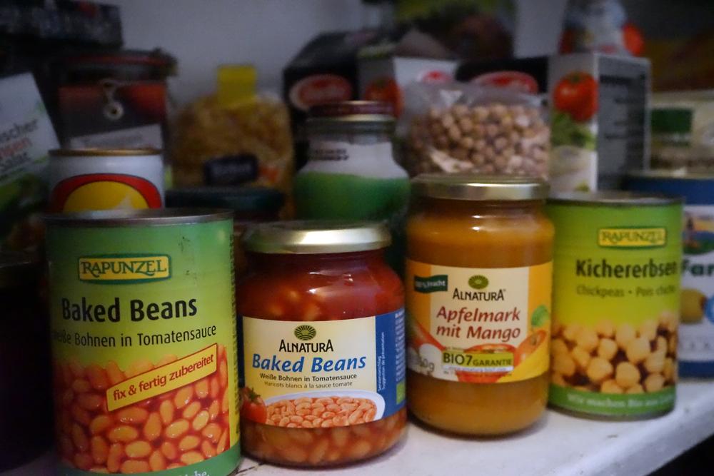 Wer, zur Hölle, braucht zwei Dosen bzw Gläser Baked Beans?