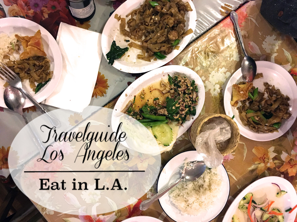 Eat in LA, Travelguide Los Angeles