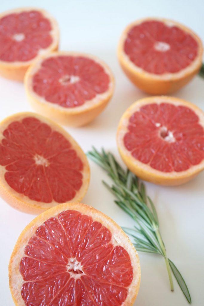 Grapefruit, grapefruit-rosmarin-limo, limo selber machen