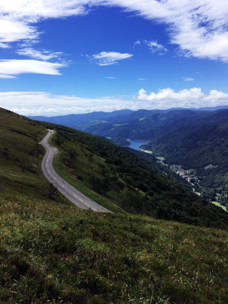 bergsee, stausee vogesen, lac de kruth-wildenstein, camping vosges