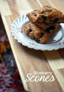 best blueberry scones for breakfast