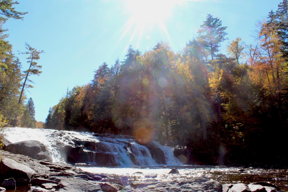 Indian Summer, Buttermilk Falls, Adirondacks