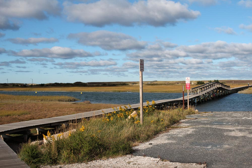 cape cod beach boardwalk