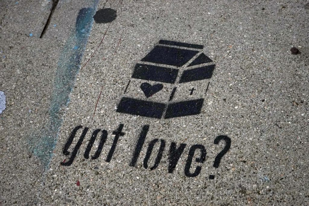 Street Art Los Angeles, Got Love, Got Milk?