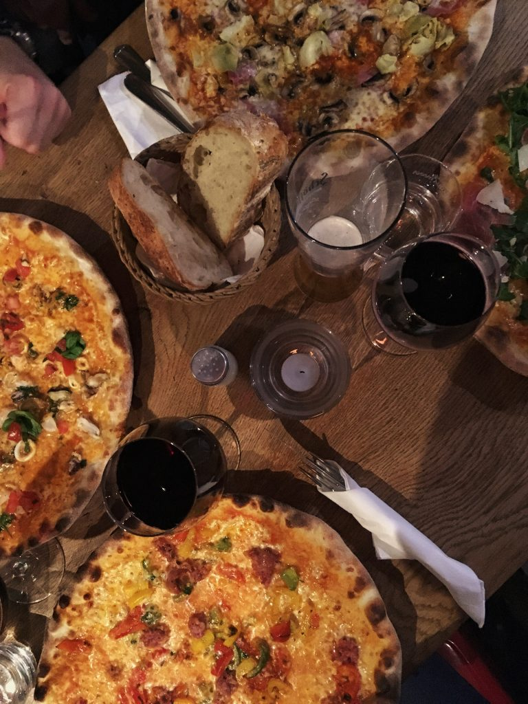 pizza, lambrusco, rotwein, eataliano